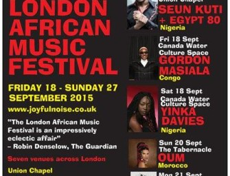 Preview: London African Music Festival @ London (Various Venues, 18-27 September 2015)