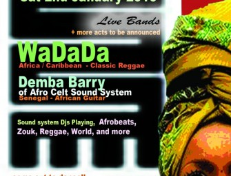 Preview: African Beats New Year's Party featuring WaDaDa + Demba Barry @ 229 The Venue (London, 2nd January 2016)