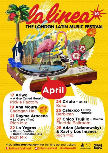 Preview: La Linea Festival (London, 17th – 28th April 2016)
