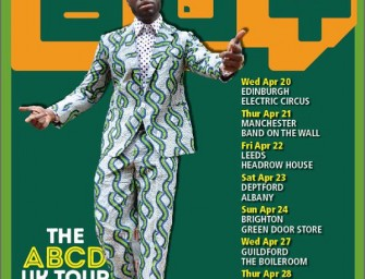 Preview: Afrikan Boy – The ABCD 2016 U.K. Tour (U.K. Wide, 20th April – 1st May 2016)