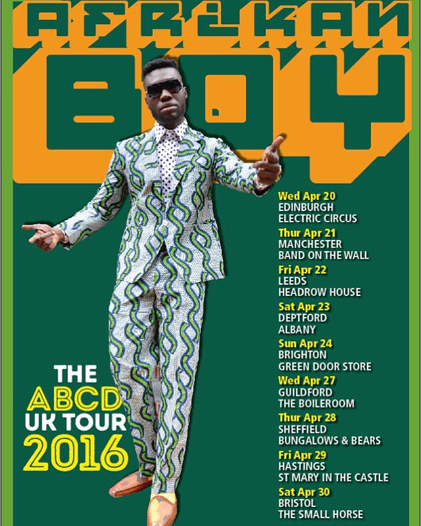 Preview afrikan boy the abcd 2016 uk tour uk wide 20th afrikanboytourdates altavistaventures Images