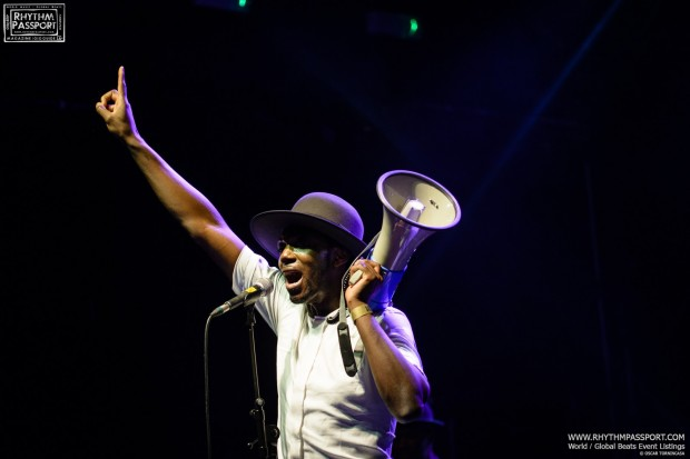 Interview: Baloji @ Brighton Dome (May 2016)