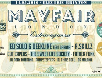 Preview: BoomTown Gatherings – Mayfair London Extravaganza @ Electric Brixton (London, 14th May 2016)