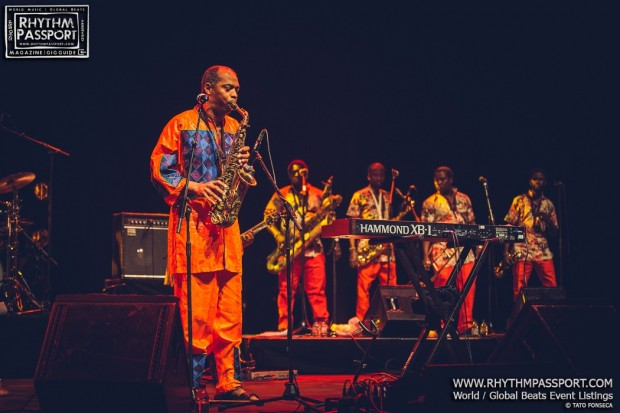Review: Femi Kuti + Tiggs Da Author + K.O.G. and The Zongo Brigade @ Southbank Centre (London, 11th June 2016)