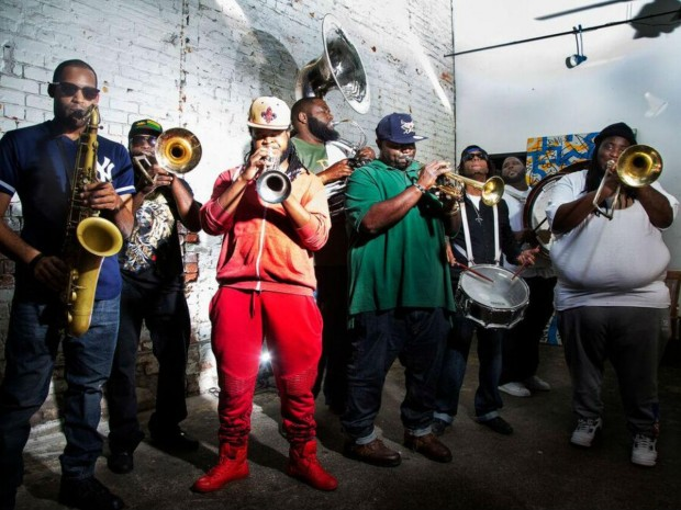 Review: The Hot 8 Brass Band @ Electric Brixton (London, 26th May 2016)