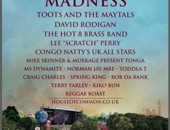 Preview: Madness House of Common @ Clapham Common (London, 29th August 2016)