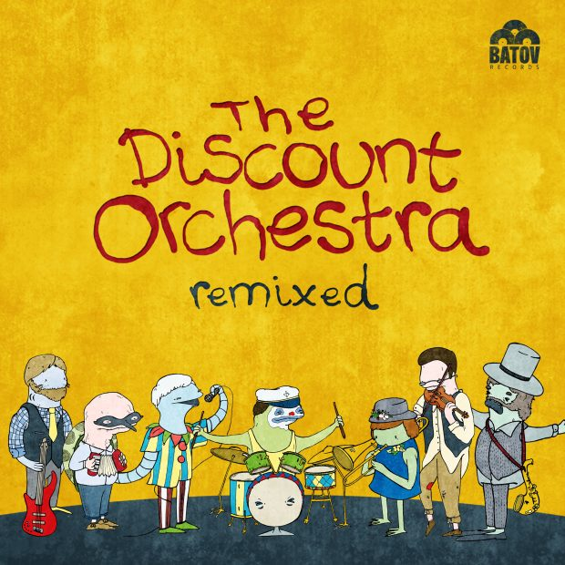 News: The Discount Orchestra – The Discount Orchestra Remixed [Batov Records, 4th November 2016]