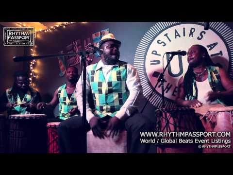 Daily Discovery: Rhythm Passport – Sabbey Drummers International @ Upstairs At The Ritzy