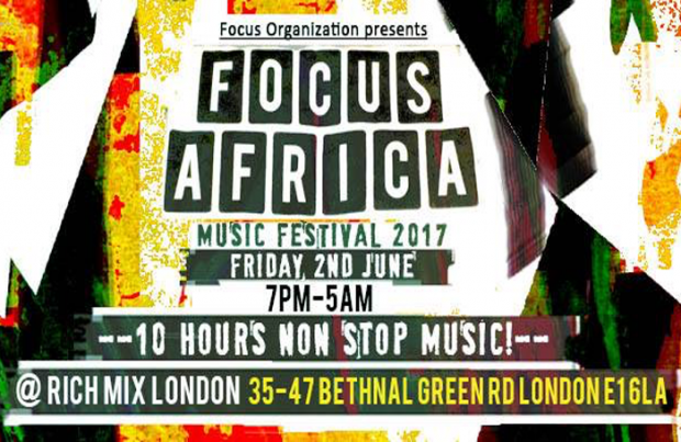 Preview: Focus Festival @ Rich Mix (London, 2nd June 2017)