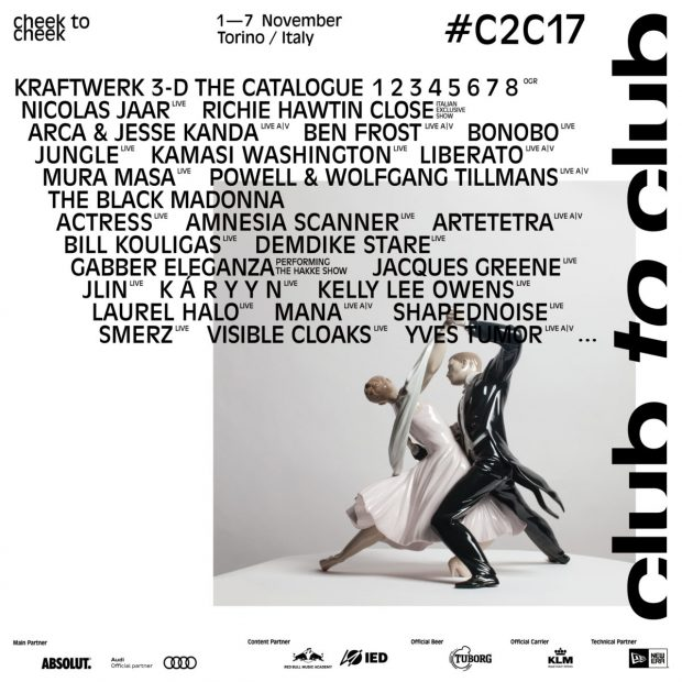 Preview: Club To Club Festival (Turin, Italy, 1st to 7th November 2017)