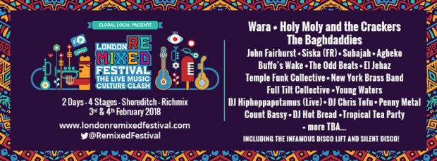 Preview: London Remixed Festival @ Rich Mix (London; 2nd & 3rd February 2018)