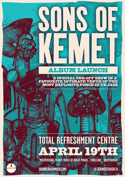 Preview: Sons of Kemet – Your Queen is a Reptile Album Launch @ Total Refreshment Centre (London; Thursday 19th April 2018)