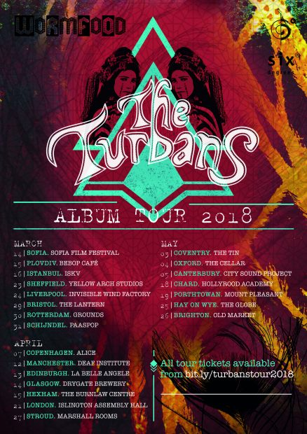Preview: The Turbans UK Tour (UK-wide; 12th April to 26th May 2018)