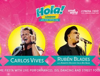 Preview: Hola! London 2018 @ O2 (London; Saturday 21st July 2018)