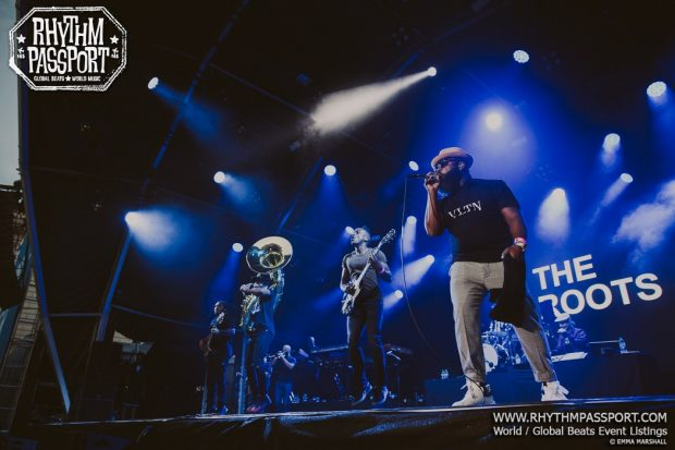 Gallery: The Roots @ Somerset House (London; Thursday 12th July 2018)