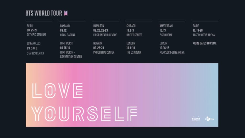 Bts World Tour Love Yourself Rhythm Passport