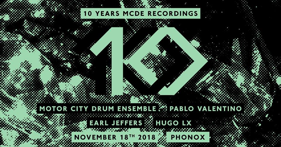 Sundays at Phonox: Motor City Drum Ensemble
