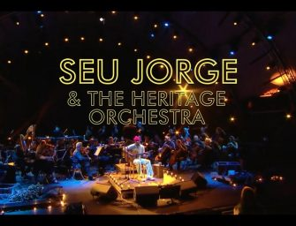 Preview: Seu Jorge and the Heritage Orchestra + Gizmo Varillas @ Eventim Apollo (London; Friday 8th February 2019)