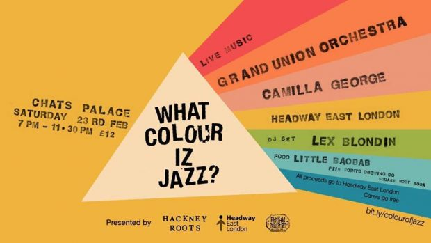Preview: The Colour of Jazz w/ Camilla George, Grand Union Orchestra & Lex Blondin @ Chats Palace (London; Saturday 23rd February 2019)