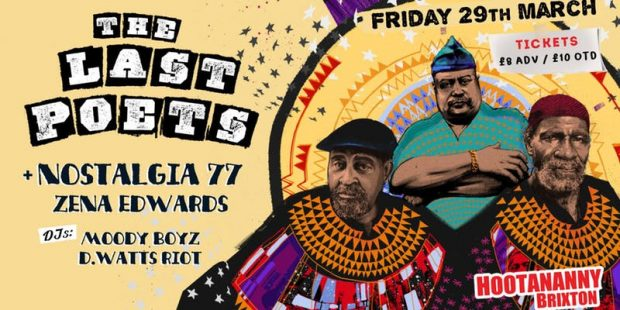 Preview: The Last Poets @ Hootananny (London; Friday 29th March 2019)