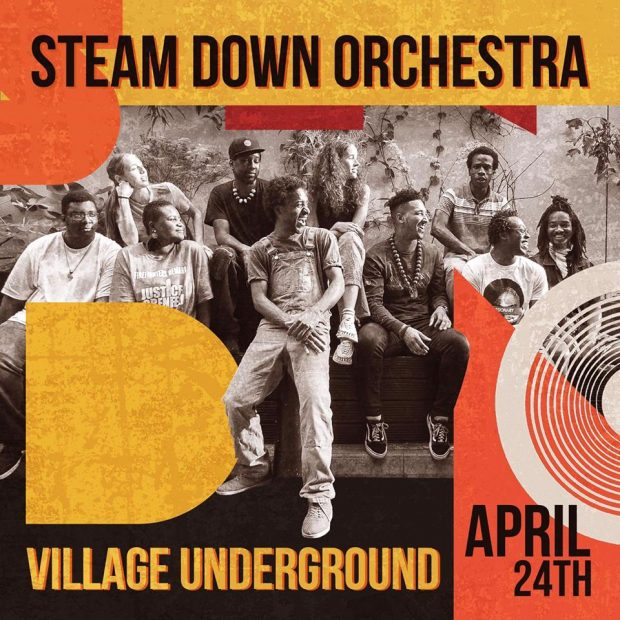 Preview: Steam Down @ Village Underground (London; Wednesday 24th April 2019)