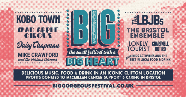 Playlist: Big Gorgeous Festival 2019 @ Windsor Terrace (Bristol; Saturday 27th July 2019)