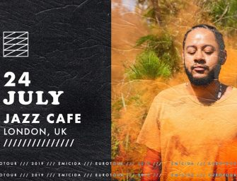Preview: Emicida @ The Jazz Cafe (London; Wednesday 24th July 2019)