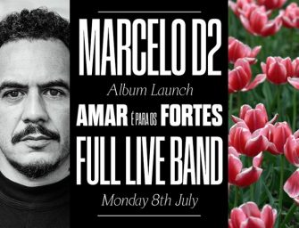 Preview: Marcelo D2 @ The Jazz Cafe (London; Monday 8th July 2019)