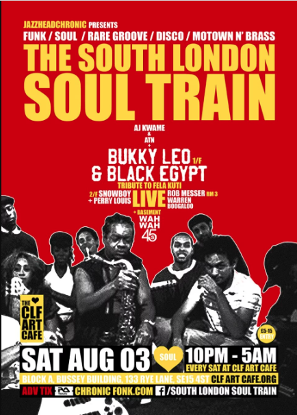 The South London Soul Train with Bukky Leo & Black Egypt