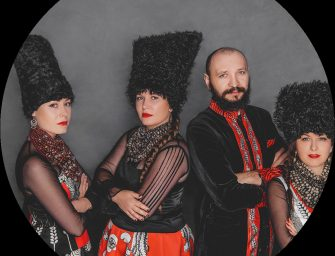 Preview: DakhaBrakha @ EartH (London; Friday 26th July 2019)
