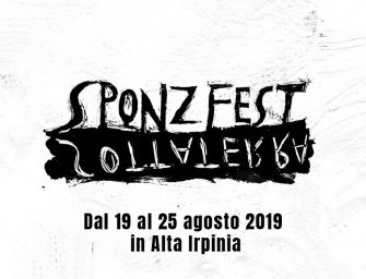 Preview: Sponz Fest 2019 (Calitri, Italy; Monday 19th to Sunday 25th August 2019)