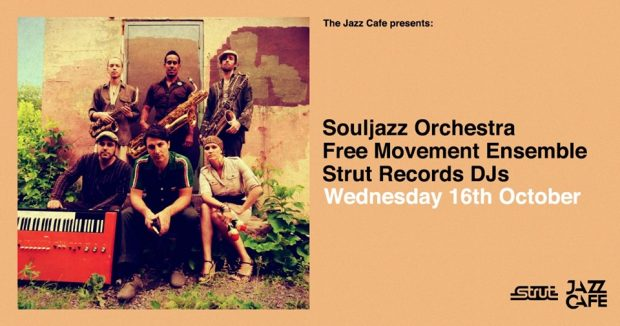 Preview: Souljazz Orchestra @ The Jazz Café (London; Wednesday 16th October 2019)