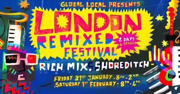 Preview:  London Remixed Festival @ Rich Mix (London; Friday 31th January to Saturday 1st February 2020)
