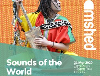 Preview: Sounds of the World presents Simo Lagnawi & Gnawa London + Gaia Mobilij @ Tramshed (London; Saturday 21st March 2020)