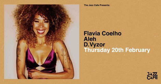 Preview: Flavia Coelho @ The Jazz Cafe (London; Thursday 20th February 2020)