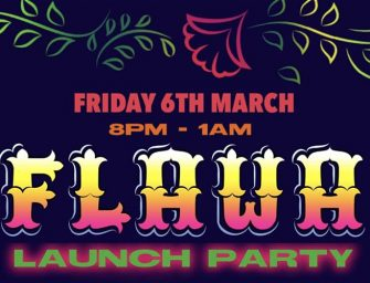Preview: FLAWA 2020 – Launch party with Riobamba @ EartH (London; Friday 6th March 2020)