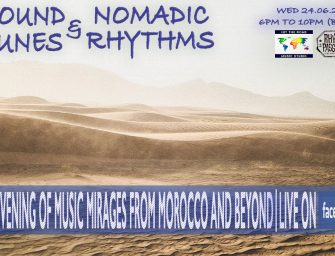 Preview: Sound Dunes & Nomadic Rhythms (Facebook; Wednesday 24th June 2020)