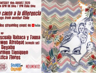 Preview: Yo Canto a la Diferencia – Online Streaming Event (Wednesday 19th August 2020)