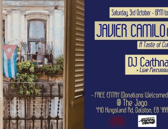 Event Preview: Javier Camilo – A Taste of Cubania @ The Jago (London; Saturday 3rd October 2020)