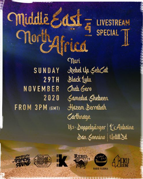 Preview: North African & Middle East Online Stream Special (Online; Sunday 29th November 2020)