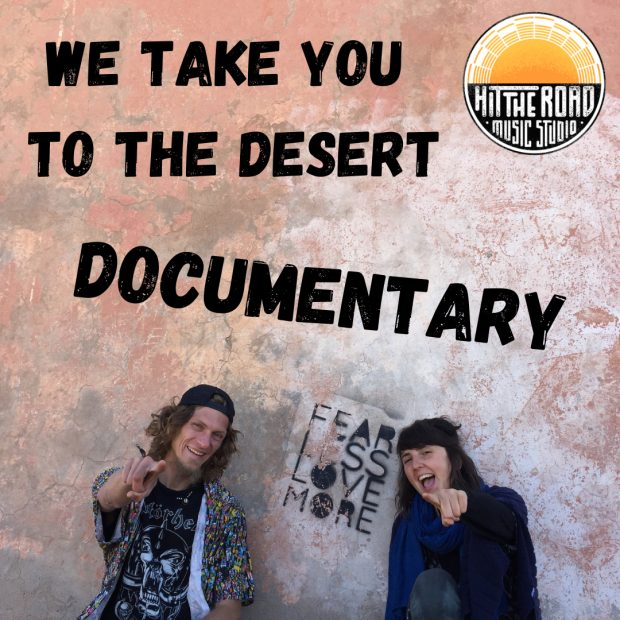 Hit The Road Music Studio: Ady & Kasia Take You to the Desert