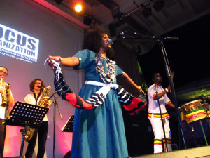 Review: Simo Lagnawi & the Gnawa Blues All-Stars + Krar Collective @ Rich Mix (London/ 4th April 2015)