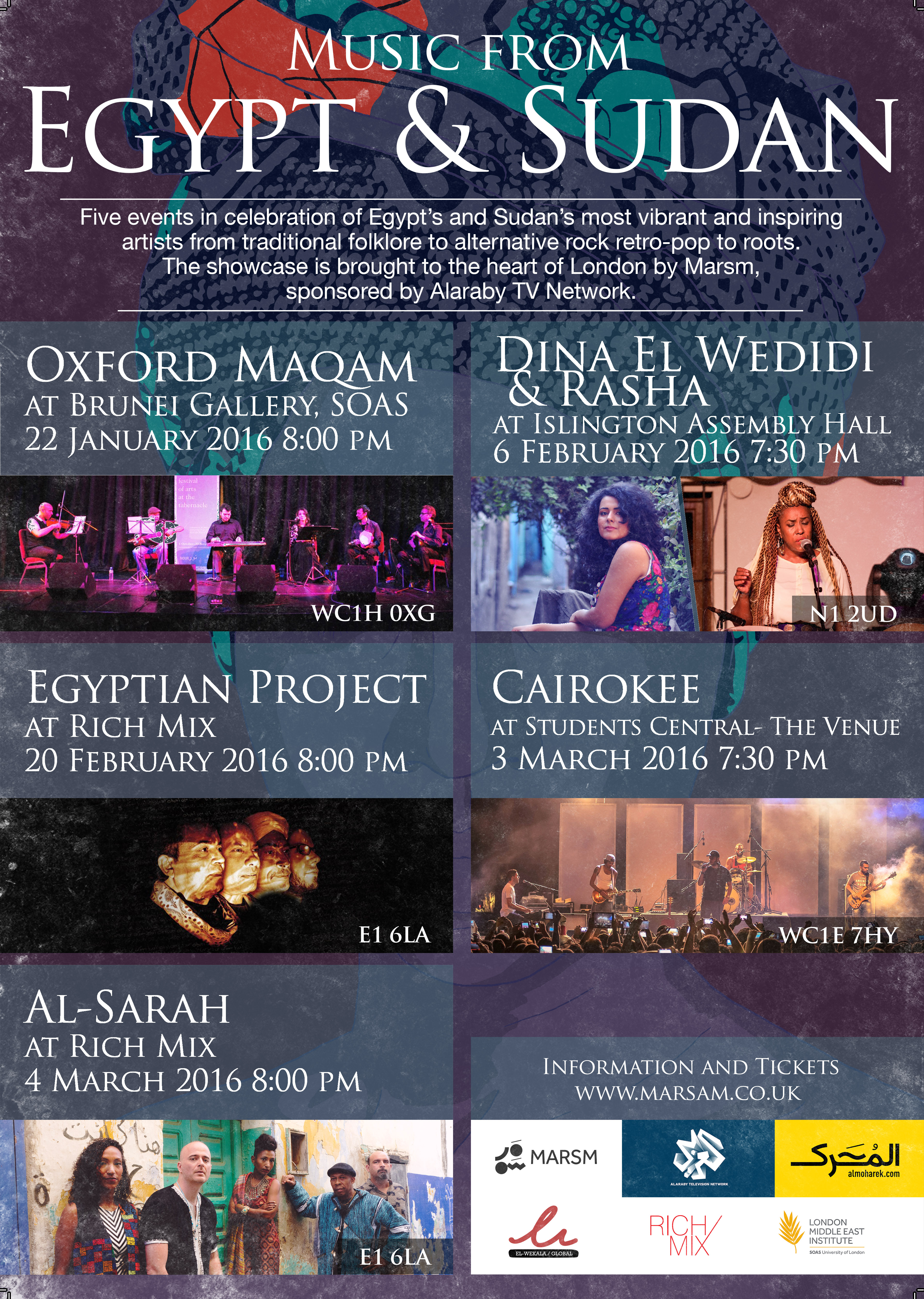 Music from Egypt & Sudan A3