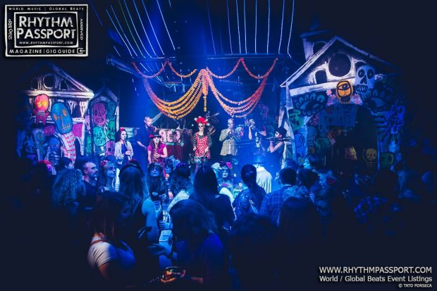 Gallery: Wahaca's Day of the Dead with Family Atlantica & Voodoo Love Orchestra @ The Vaults (London, 3rd November 2017)