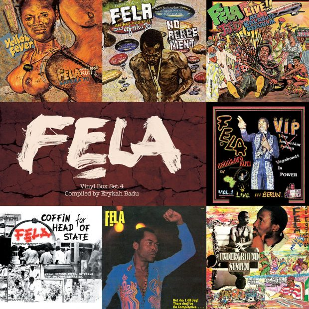 Album Review: Fela Kuti – Box Set #4 curated by Erykah Badu [Knitting Factory Records; 15th December 2017]