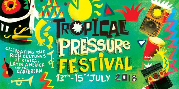 Playlist: Tropical Pressure Festival 2018 @ Mount Pleasant Ecological Park (Porthtowan; Friday 13th to Sunday 15th July 2018)