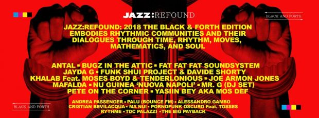 Preview: Jazz:Re:Found 2018 (Turin, Italy; Friday 30th November & Thursday 6th to Saturday 8th December 2018)
