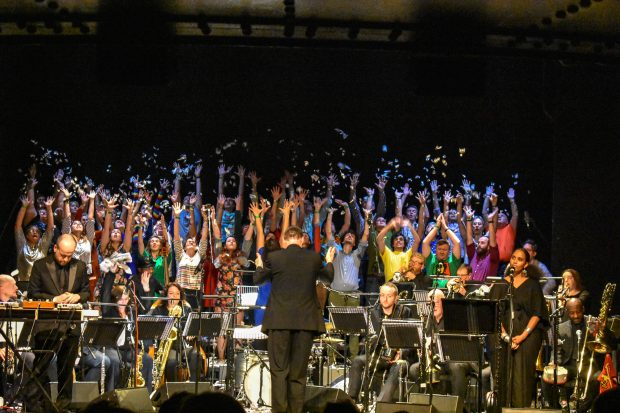 Review: Matthew Herbert's Brexit Big Band – The State Between Us @ Royal Court Theatre  (London; Friday 29th March 2019)