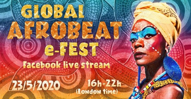 Preview: Global Afrobeat e-Fest (Saturday 23rd May 2020)