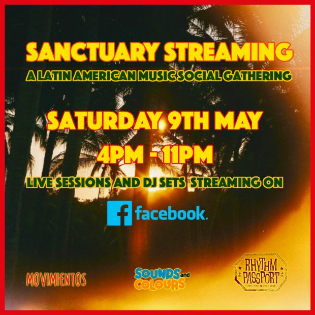 LIVE – Sanctuary Streaming (Saturday 9th May 2020)